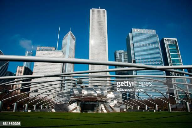 Pritzker Pavilion Millennium Park Chicago Illinois
