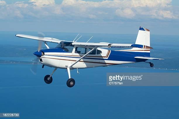 Privatflugzeug im Flug