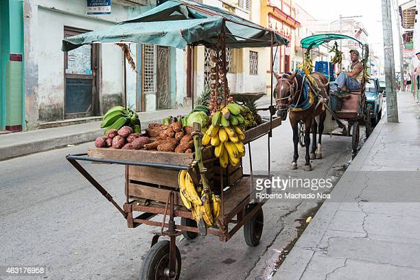 Private and ambulant grocery selling stands for supplying neighborhoods far away from markets After the reforms of the Raul Castro government many go...