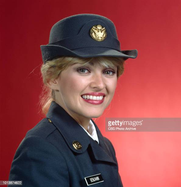 Private Benjamin a CBS television sitcom based on the movie of the same name about life in the Army September 1 1982 Pictured is Lorna Patterson Los...