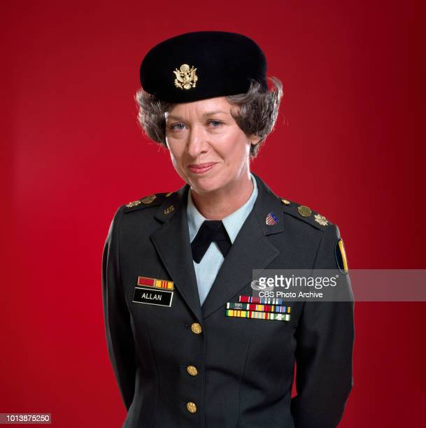 Private Benjamin a CBS television sitcom based on the movie of the same name about life in the Army September 1 1982 Pictured is Polly Holliday Los...
