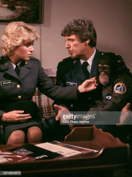 Private Benjamin a CBS television sitcom based on the movie of the same name about life in the Army From left is Lorna Patterson and Phillip R Allen...