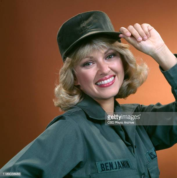 Private Benjamin a CBS television sitcom based on the movie of the same name about life in the Army September 1 1982 Los Angeles CA Pictured is Lorna...