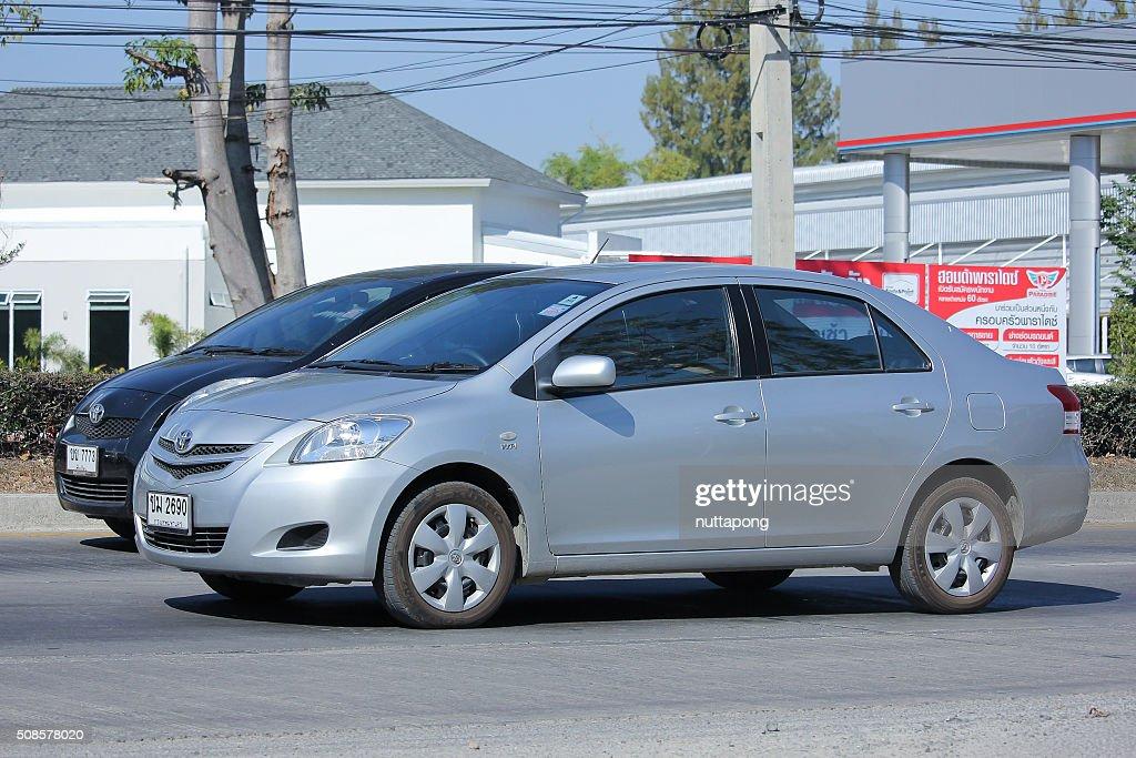 Privatwagen, Toyota Vios. : Stock-Foto