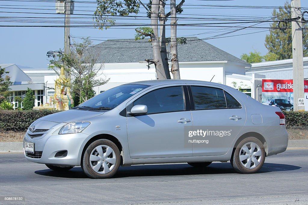 Private car, Toyota Vios. : Stockfoto