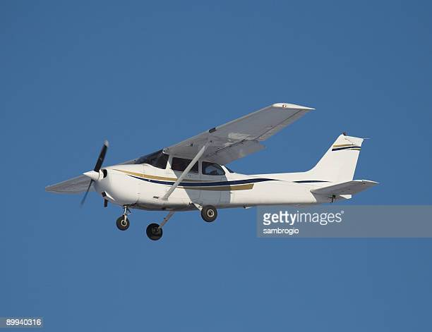 private civil airplane iv - glider stock photos and pictures