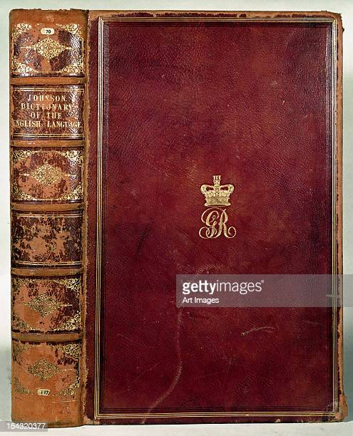 Front Cover of Johnson's Dictionary of the English Language (leather)