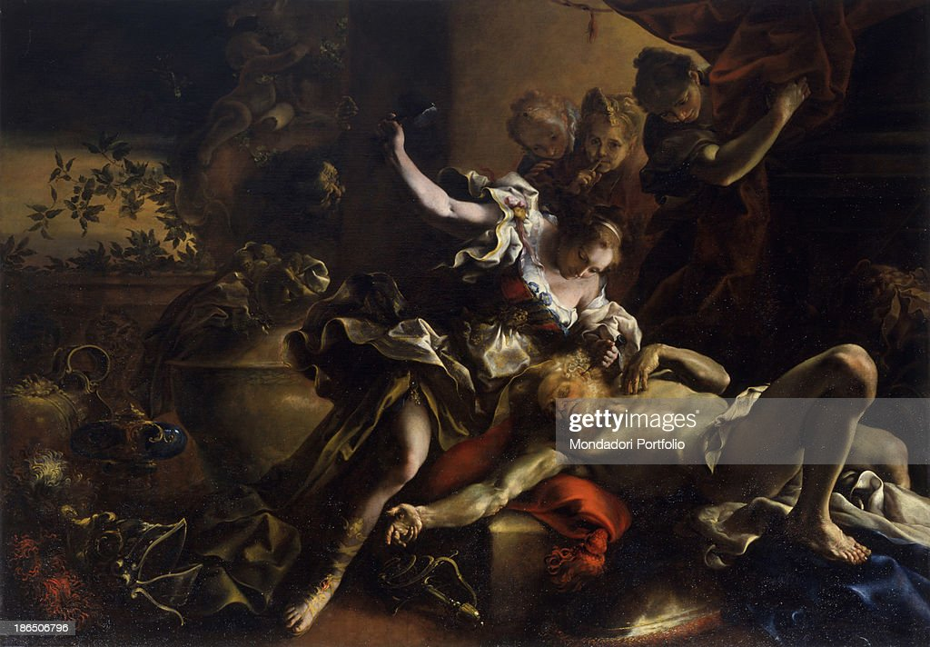 Private collection Whole artwork view Murder of Sisera by Jael with a peg and a hammer & Jael Killing Sisera Stock Photos and Pictures | Getty Images