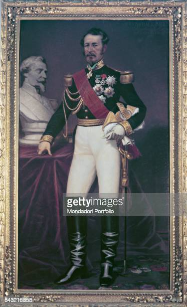 Private Collection Whole artwork view Portrait of French general and field marshal Adolphe Niel in dress uniform