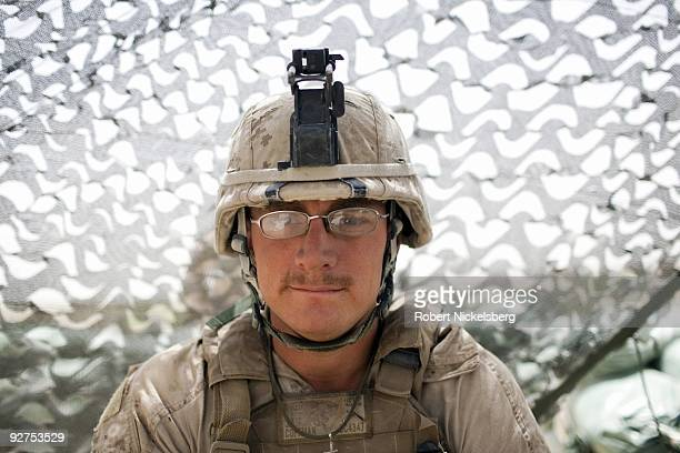 QAL'EHYENAW AFGHANISTAN AUGUST 16 Private First Class Jeff Coffman 22 years from Taylor Ridge Illinois has served in the US Marine Corps 2nd Division...