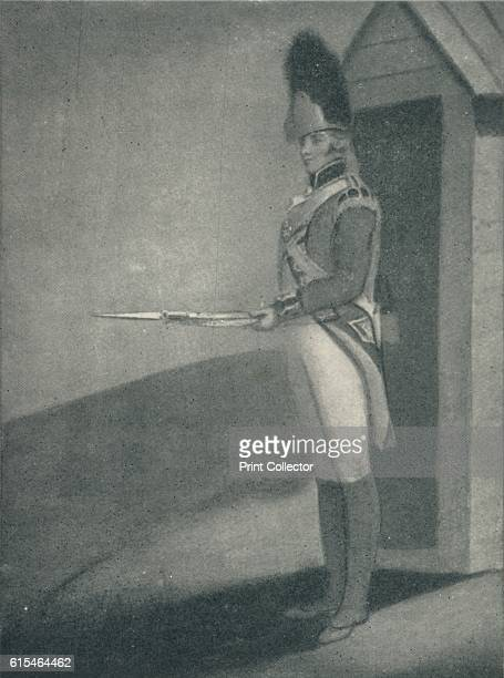 Private Grenadier Guards 1760 From British Military Prints by Ralph Nevill [The Connoisseur London 1909] Artist Unknown