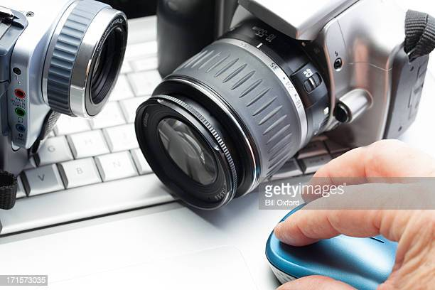 private investigation - input device stock photos and pictures