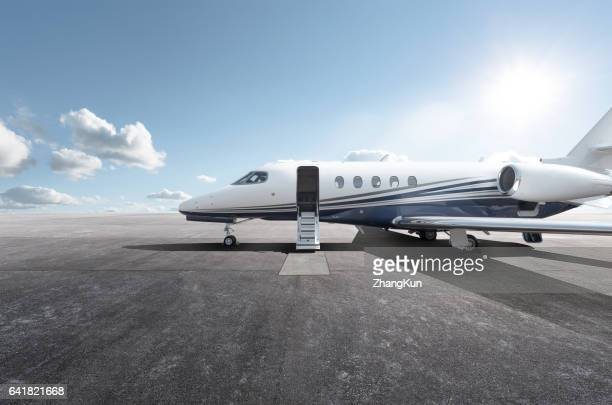 a private jet - private aeroplane stock pictures, royalty-free photos & images