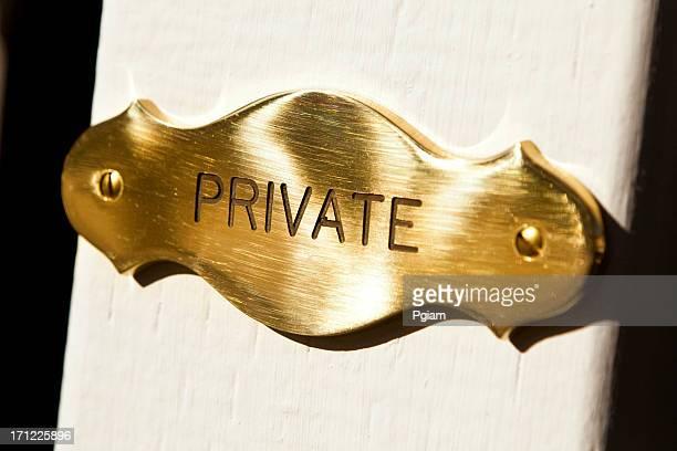 Privater-Plakette