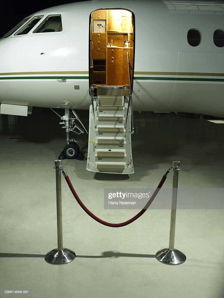 Private Plane With Door Open Stock Photo Getty Images