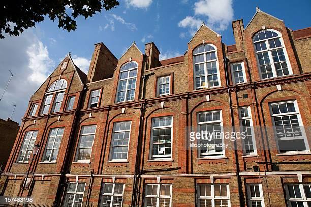private schule in london, england - unabhängige schulbildung stock-fotos und bilder