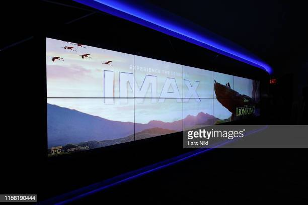 """Private screening for the movie """"The Lion King"""" at AMC Loews Lincoln Square theatre on July 17, 2019 in New York City."""