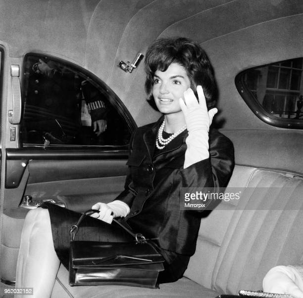 Private visit to London of American President John F Kennedy and the First Lady Jacqueline Kennedy for the christening ceremony of their niece Anna...