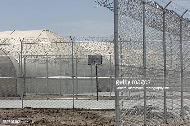 A privatelyrun illegal immigrant detention facility under construction in a cotton field outside this far south Texas Willacy County town on August...