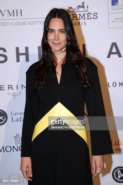 'Prix Accessoires de Mode' Jewelry Designer Ana Khouri attends the ANDAM 2017 Prize Winner Cocktail at Ministere de la Culture on June 30 2017 in...