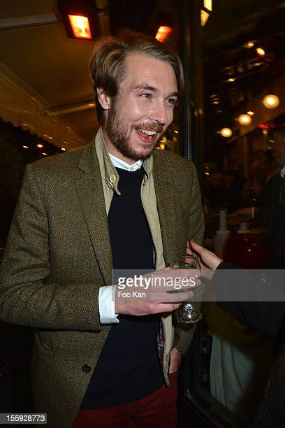 'Prix De Flore 2012' awarded Oscar Coop Phane attends the 'Prix De Flore 2012' Literary Award Ceremony Party at the Cafe de Flore on November 8 2012...