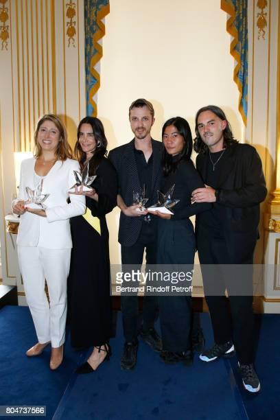 'Prix de l'Innovation' AudreyLaure Bergenthal for Euveka 'Prix Accessoires de Mode' Jewelry Designer Ana Khouri 'Grand Prix' Glenn Martens for...