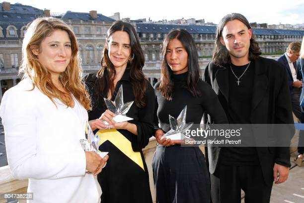 'Prix de l'Innovation' AudreyLaure Bergenthal for Euveka 'Prix Accessoires de Mode' Jewelry Designer Ana Khouri 'Prix du Label Creatif' Laura Do and...