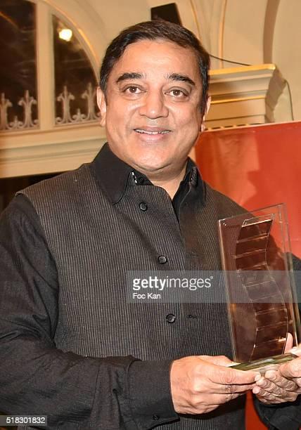 Prix Henri Langlois 2016 awarded director/actor Kamal Haasan attends '10eme Rencontres Internationales de Cinema de Patrimoine 2016' Opening Ceremony...