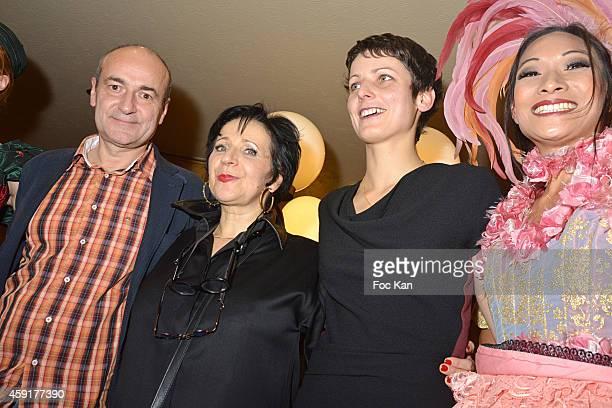 Prix Wepler 2014 awarded Jean Hubert Grailliot for his book 'Le Soleil' Prix Wepler President Marie Rose Guarnieri and Prix Wepler 2014 Jury Special...