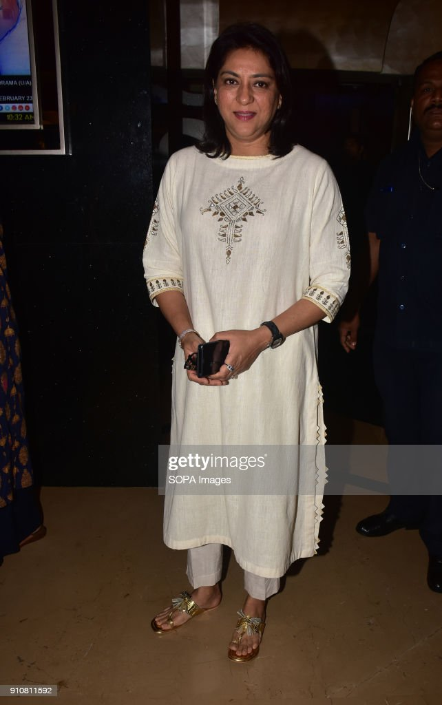 Priya Dutt seen during the event PVR NEST host a Pretty Powerful Padman Awards at the grand finale of Shes Ambassador Program with Priya Dutt Twinkle.