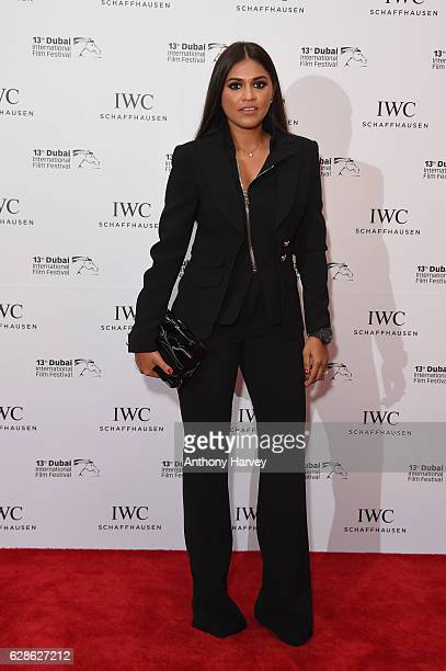 Priya Jelly attends the fifth IWC Filmmaker Award gala dinner at the 13th Dubai International Film Festival during which Swiss luxury watch...