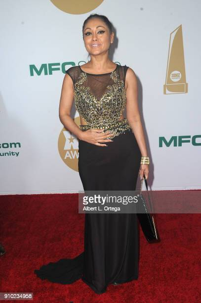 Priya Rai arrives for the 2018 XBIZ Awards held at J.W. Marriot at L.A. Live on January 18, 2018 in Los Angeles, California.