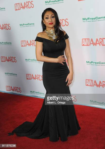 Priya Rai attends the 2018 Adult Video News Awards held at Hard Rock Hotel Casino on January 27 2018 in Las Vegas Nevada
