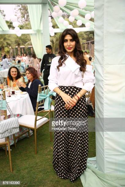Priya Sachdev during the Hightea afternoon helmed by NGO Savera to raise funds for healthcare child education and vocational training at 10...