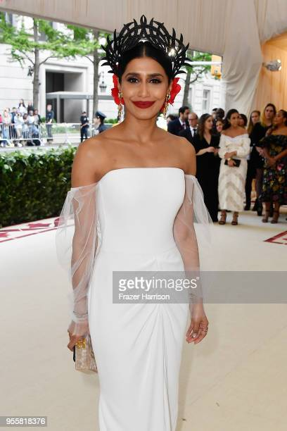 Priya Shukla attends the Heavenly Bodies: Fashion & The Catholic Imagination Costume Institute Gala at The Metropolitan Museum of Art on May 7, 2018...