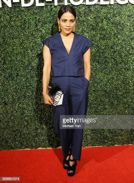 Priyanka Bose attends the MAISONDEMODE Celebrates Sustainable Style held at Sunset Tower on March 3 2018 in Los Angeles California