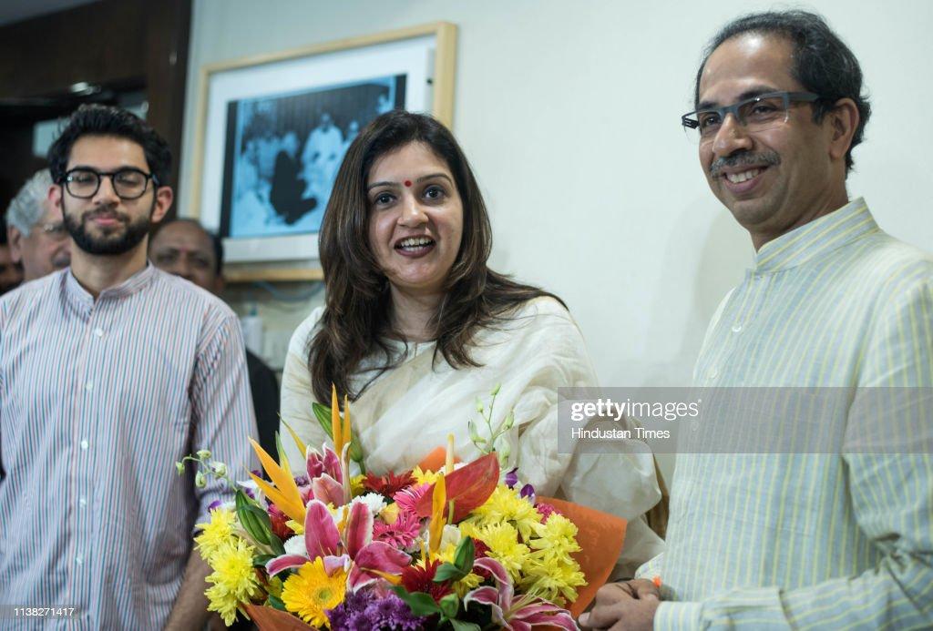 IND: Priyanka Chaturvedi Quits Congress, Joins Shiv Sena