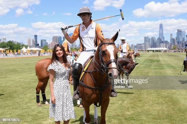Priyanka Chopra and Nacho Figueras at The Tenth Annual Veuve Clicquot Polo Classi at Liberty State Park on June 3 2017 in Jersey City New Jersey