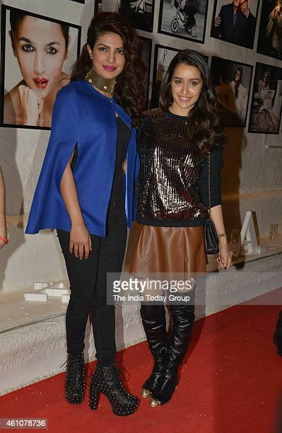 Priyanka Chopra and Shraddha Kapoor in Dabboo Ratnanis 2015 calender launch in Mumbai