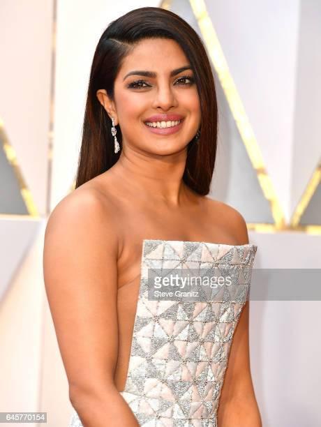 Priyanka Chopra arrives at the 89th Annual Academy Awards at Hollywood Highland Center on February 26 2017 in Hollywood California