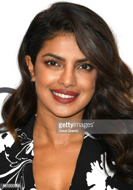 Priyanka Chopra arrives at the Variety's Power Of Women Los Angeles at the Beverly Wilshire Four Seasons Hotel on October 13 2017 in Beverly Hills...