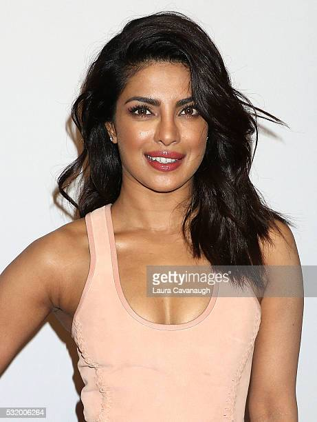Priyanka Chopra attends 2016 ABC Upfront at David Geffen Hall on May 17 2016 in New York City