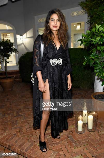 Priyanka Chopra attends Apollo in the Hamptons 2017 hosted by Ronald O Perelman at The Creeks on August 12 2017 in East Hampton New York