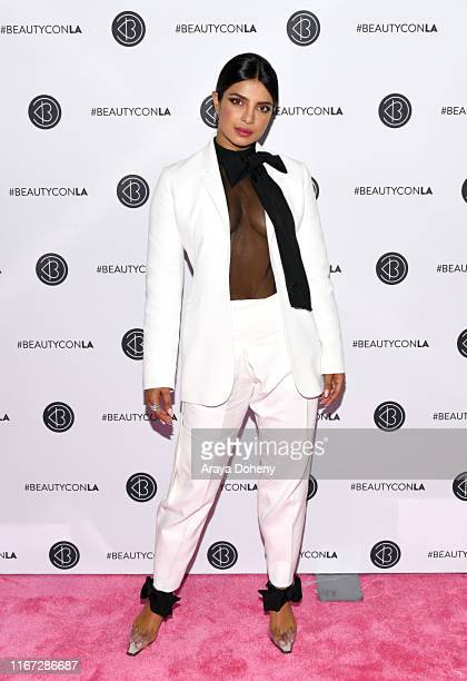 Priyanka Chopra attends Beautycon Festival Los Angeles 2019 at Los Angeles Convention Center on August 10 2019 in Los Angeles California