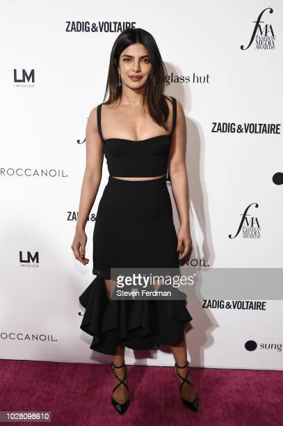 Priyanka Chopra attends Daily Front Row's Fashion Media Awards presented by ZadigVoltaire Sunglass Hut Moroccan Oil LIM Fiji on September 6 2018 in...
