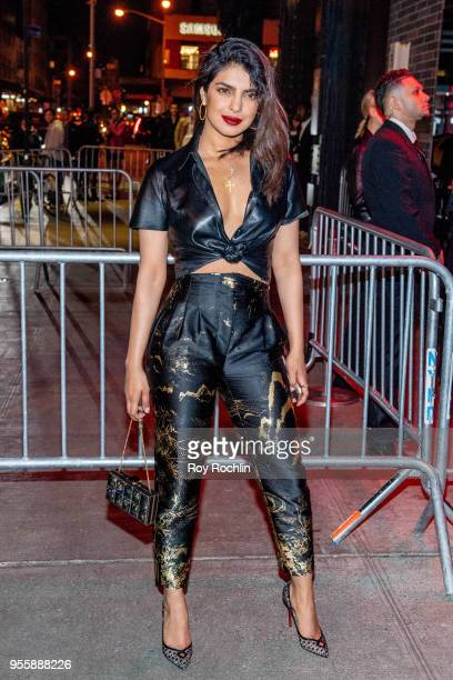 Priyanka Chopra attends Heavenly Bodies: Fashion & The Catholic Imagination Costume Institute Gala after party at the Standard Hotel on May 7, 2018...