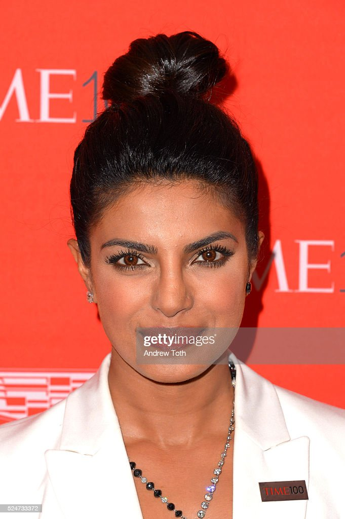 Priyanka Chopra attends the 2016 Time 100 Gala at Frederick P. Rose Hall, Jazz at Lincoln Center on April 26, 2016 in New York City.