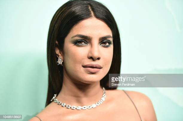 Priyanka Chopra attends the 2018 Tiffany Co Blue Book Gala on October 9 2018 in New York City