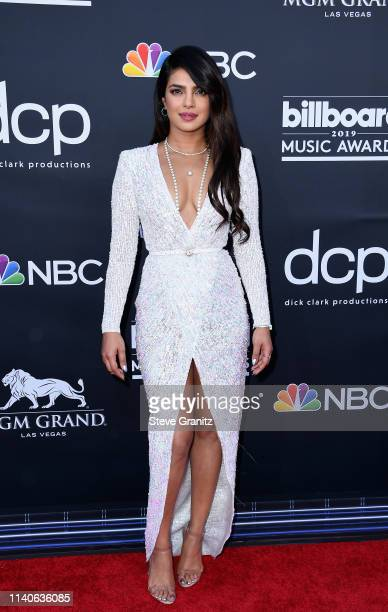 Priyanka Chopra attends the 2019 Billboard Music Awards at MGM Grand Garden Arena on May 1, 2019 in Las Vegas, Nevada.