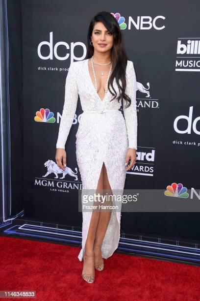 Priyanka Chopra attends the 2019 Billboard Music Awards at MGM Grand Garden Arena on May 01 2019 in Las Vegas Nevada